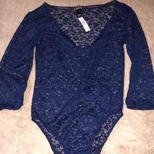 VS lace bodysuit
